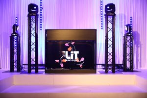 Video Screen DJ Booth
