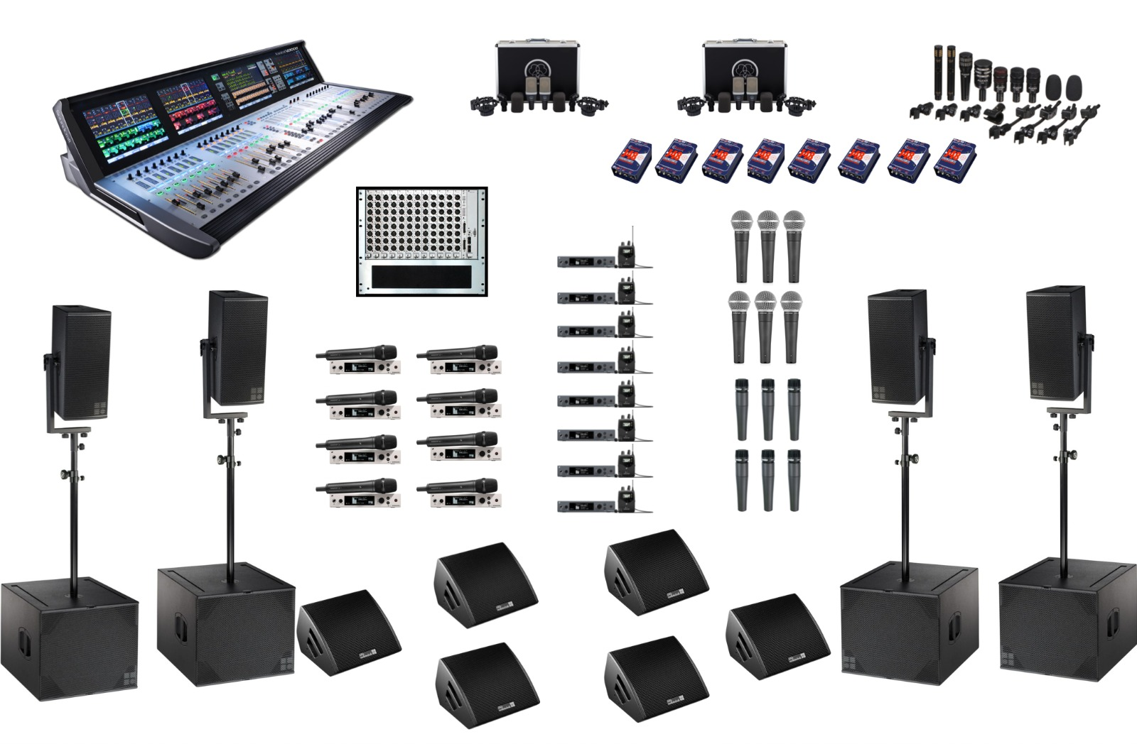 Band Sound Package Large
